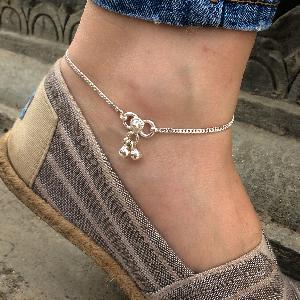 Plain anklet