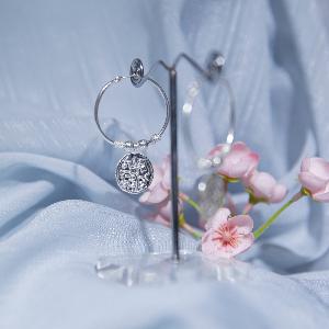 Asarfi coin earrings