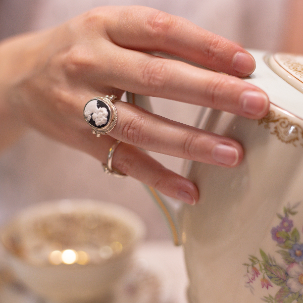 Large Cameo ring