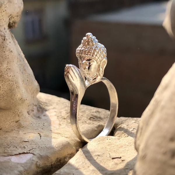 Namaste Buddha ring