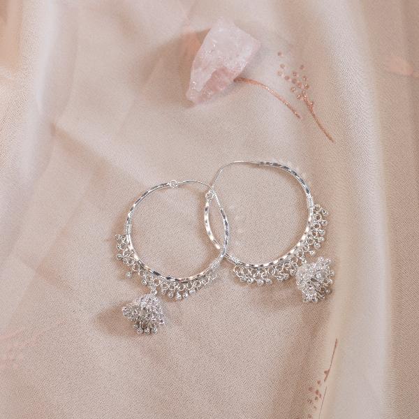 Hoop Pinjada earrings (Design 1)