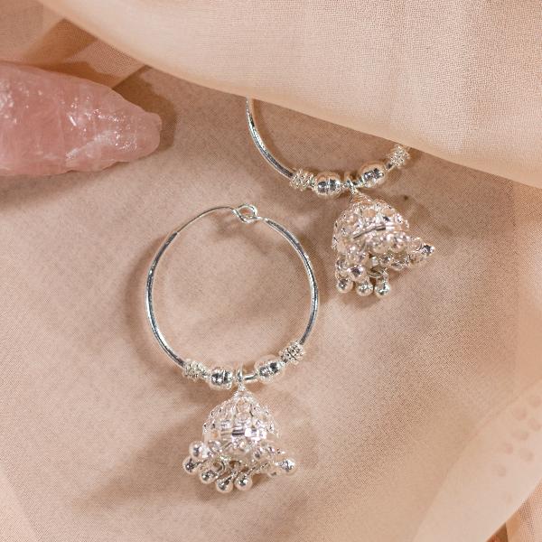 Hoop Pinjada earrings (Design 2)